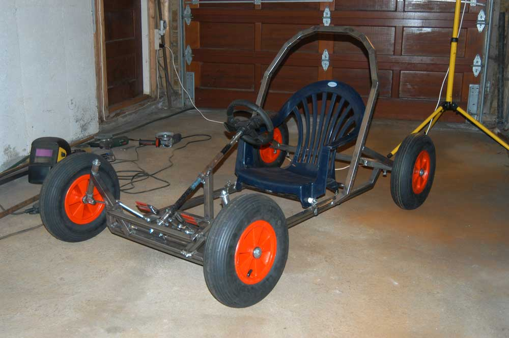 Downhill Kart For The Kids In The Making Mig Welding Forum