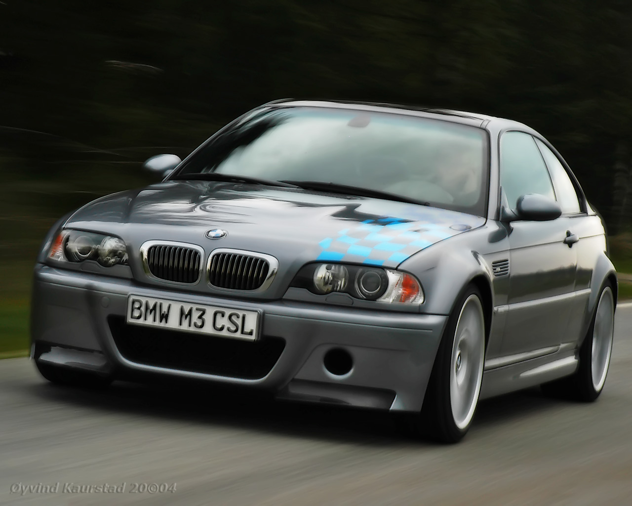 BMW M3 CSL Wallpaper